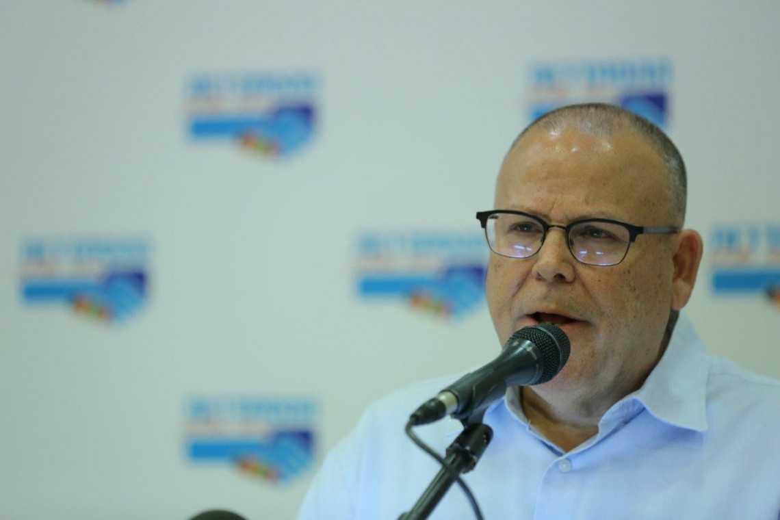 """יו""""ר הסתדרות המעו""""ף ארנון בר דוד, צילום: אורן כהן"""