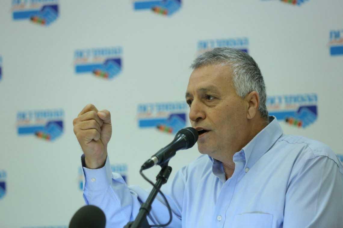 """יו""""ר הסתדרות עובדי המדינה אריאל יעקבי, צילום: אורן כהן"""