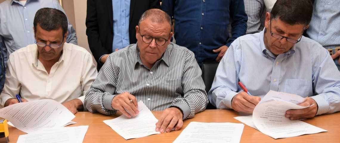 לראשונה: הסכם קיבוצי בענף מוקדי הסיור
